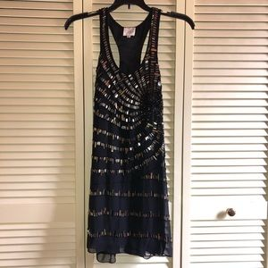 Parker sequin cocktail dress